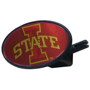 Iowa St. Cyclones College Hitch Cover - Iowa St. Cyclones strong plastic hitch cover that includes hitch pin and features a school logo dome. Fits class III receivers. Thank you for shopping with CrazedOutSports.com