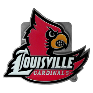 "Collegiate Hitch Cover - Louisville Cardinals - Our collegiate Louisville Cardinals hitch cover is a durable and attractive way to show off your school spirit. The Louisville Cardinals hitch cover fits a 2"" hitch receiver. Thank you for shopping with CrazedOutSports.com"