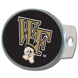 Wake Forest Oval Hitch Cover - Our officially licensed collegiate oval hitch cover is made of durable zinc and fits class II and class III hitch covers. Thank you for shopping with CrazedOutSports.com