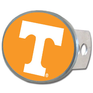 Tennessee Oval Hitch Cover - Our officially licensed collegiate oval hitch cover is made of durable zinc and fits class II and class III hitch covers. Thank you for shopping with CrazedOutSports.com