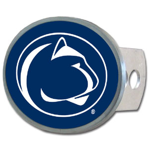 PENN St. Oval Hitch Cover - Our officially licensed collegiate oval hitch cover is made of durable zinc and fits class II and class III hitch covers. Thank you for shopping with CrazedOutSports.com