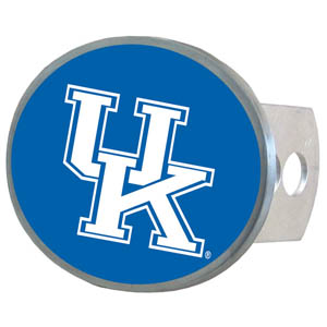 Kentucky Oval Hitch Cover - Our officially licensed collegiate oval hitch cover is made of durable zinc and fits class II and class III hitch covers. Thank you for shopping with CrazedOutSports.com