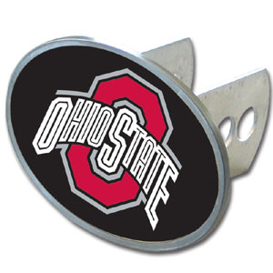 Ohio St. Oval Hitch Cover - Our officially licensed collegiate oval hitch cover is made of durable zinc and fits class II and class III hitch covers. Thank you for shopping with CrazedOutSports.com