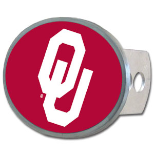 Oklahoma Oval Hitch Cover - Our officially licensed collegiate oval hitch cover is made of durable zinc and fits class II and class III hitch covers. Thank you for shopping with CrazedOutSports.com