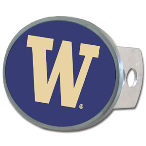Washington Oval Hitch Cover - Our officially licensed collegiate oval hitch cover is made of durable zinc and fits class II and class III hitch covers. Thank you for shopping with CrazedOutSports.com