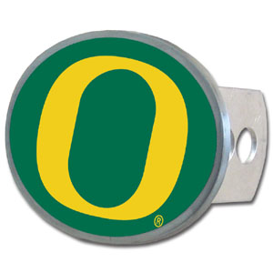 Oregon Oval Hitch Cover - Our officially licensed collegiate oval hitch cover is made of durable zinc and fits class II and class III hitch covers. Thank you for shopping with CrazedOutSports.com