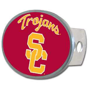 USC Oval Hitch Cover - Our officially licensed collegiate oval hitch cover is made of durable zinc and fits class II and class III hitch covers. Thank you for shopping with CrazedOutSports.com