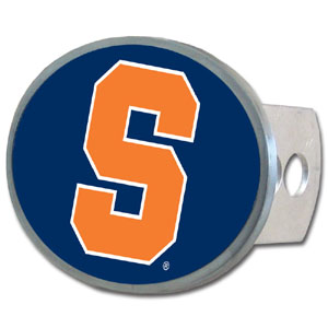 Syracuse Oval Hitch Cover - Our officially licensed collegiate oval hitch cover is made of durable zinc and fits class II and class III hitch covers. Thank you for shopping with CrazedOutSports.com