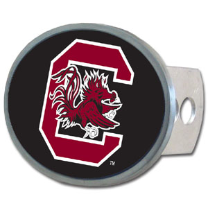 S. Carolina  Oval Hitch Cover - Our officially licensed collegiate oval hitch cover is made of durable zinc and fits class II and class III hitch covers. Thank you for shopping with CrazedOutSports.com