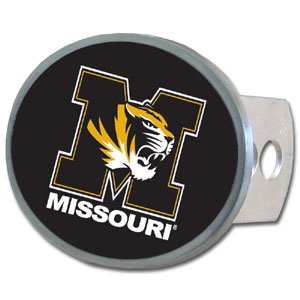 Missouri Oval Hitch Cover - Our officially licensed collegiate oval hitch cover is made of durable zinc and fits class II and class III hitch covers. Thank you for shopping with CrazedOutSports.com