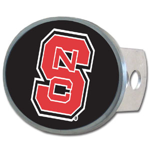 N. Carolina St. Oval Hitch Cover - Our officially licensed collegiate oval hitch cover is made of durable zinc and fits class II and class III hitch covers. Thank you for shopping with CrazedOutSports.com