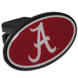 Alabama Crimson Tide Plastic Hitch Cover Class III - This unique hitch plug snaps easily into place with 2 push locks removing the need for additional hardware. The hitch features a large Alabama Crimson Tide logo so you can show off your team pride. Fits class III hitch receivers. Thank you for shopping with CrazedOutSports.com
