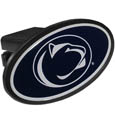 Penn St. Nittany Lions Plastic Hitch Cover Class III - This unique hitch plug snaps easily into place with 2 push locks removing the need for additional hardware. The hitch features a large Penn St. Nittany Lions logo so you can show off your team pride. Fits class III hitch receivers. Thank you for shopping with CrazedOutSports.com