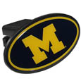 Michigan Wolverines Plastic Hitch Cover Class III - This unique Michigan Wolverines Plastic Hitch Cover Class III snaps easily into place with 2 push locks removing the need for additional hardware. The Michigan Wolverines Plastic Class III Hitch Cover features a large Michigan Wolverines logo so you can show off your team pride. Michigan Wolverines Plastic Hitch Cover fits class III hitch receivers. Thank you for shopping with CrazedOutSports.com