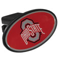 Ohio St. Buckeyes Plastic Hitch Cover Class III - This unique hitch plug snaps easily into place with 2 push locks removing the need for additional hardware. The hitch features a large Ohio St. Buckeyes logo so you can show off your team pride. Fits class III hitch receivers. Thank you for shopping with CrazedOutSports.com