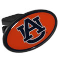 Auburn Tigers Plastic Hitch Cover Class III - This unique hitch plug snaps easily into place with 2 push locks removing the need for additional hardware. The hitch features a large Auburn Tigers logo so you can show off your team pride. Fits class III hitch receivers. Thank you for shopping with CrazedOutSports.com