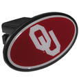 Oklahoma Sooners Plastic Hitch Cover Class III - This unique hitch plug snaps easily into place with 2 push locks removing the need for additional hardware. The hitch features a large Oklahoma Sooners logo so you can show off your team pride. Fits class III hitch receivers. Thank you for shopping with CrazedOutSports.com