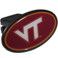 Virginia Tech Hokies Plastic Hitch Cover Class III - This unique hitch plug snaps easily into place with 2 push locks removing the need for additional hardware. The hitch features a large Virginia Tech Hokies logo so you can show off your team pride. Fits class III hitch receivers. Thank you for shopping with CrazedOutSports.com