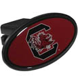 S. Carolina Gamecocks Plastic Hitch Cover Class III - This unique hitch plug snaps easily into place with 2 push locks removing the need for additional hardware. The hitch features a large S. Carolina Gamecocks logo so you can show off your team pride. Fits class III hitch receivers. Thank you for shopping with CrazedOutSports.com