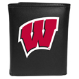 Wisconsin Badgers Tri-fold Wallet Large Logo