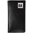 Montana Grizzlies Tall Leather Wallet - Our officially licensed tall leather wallet cover is made of high quality leather with a fully cast metal Montana Grizzliesemblem with enameled team color detail. The cover fits both side and top loaded checks and includes a large zippered pocket, windowed ID slot, numerous credit card slots and billfold pocket. Thank you for shopping with CrazedOutSports.com