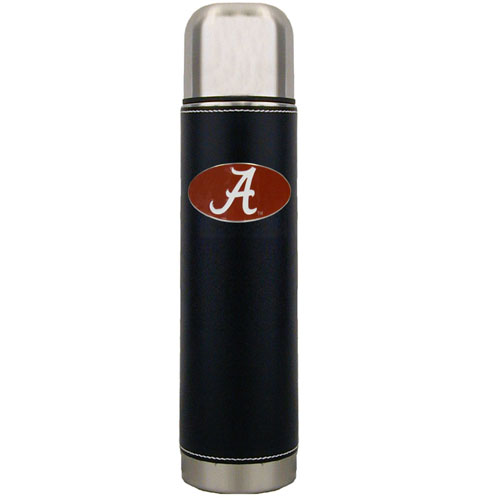 Alabama Crimson Tide Thermos - Keep your drinks piping hot for the big game with our collegiate thermos featuring a cast & enameled Alabama Crimson Tide emblem. Thank you for shopping with CrazedOutSports.com
