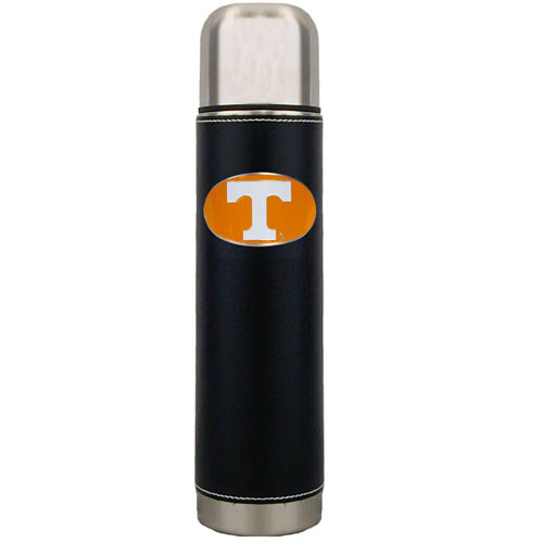 Tennessee Thermos - Keep your drinks piping hot for the big game with our collegiate thermos featuring a cast & enameled Tennessee Volunteers emblem. Thank you for shopping with CrazedOutSports.com