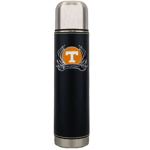 Tennessee Flame Thermos - Keep your drinks piping hot for the big game with our collegiate thermos featuring a cast & enameled Tennessee Volunteers emblem. Thank you for shopping with CrazedOutSports.com