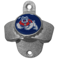 Fresno St. Bulldogs Wall Mounted Bottle Opener