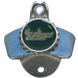 Wall Bottle Opener - S. Florida - Our sturdy wall mounted bottle opener is a great addition for your deck, garage or bar to show off your school spirit. Thank you for shopping with CrazedOutSports.com