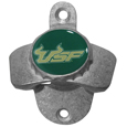 S. Florida Bulls Wall Mounted Bottle Opener - Our S. Florida Bulls sturdy wall mounted bottle opener is a great addition for your deck, garage or bar to show off your team spirit.