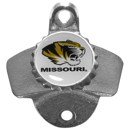 Wall Bottle Opener - Missouri Tigers - Our sturdy wall mounted bottle opener is a great addition for your deck, garage or bar to show off your school spirit. Thank you for shopping with CrazedOutSports.com