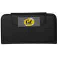 Cal Berkeley Bears iPhone 5/5S Wallet Case - This new & wildly popular case is ideal for those who like to travel light! The stylish case has an inner hard shell that securely holds your phone while allowing complete access to the phone's functionality. The flip cover has slots for credit cards, business cards and identification. The magnetic flip cover has a metal Cal Berkeley Bears team emblem on a high polish chrome backing. Fits the iPhone 5/5S. Thank you for shopping with CrazedOutSports.com