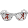 Alabama Crimson Tide Game Day Shades - Our Alabama Crimson Tide officially licensed college game day shades are the perfect accessory for the devoted Alabama Crimson Tide fan! The sunglasses have durable polycarbonate frames with flex hinges for comfort and damage resistance. The lenses feature brightly colored team clings that are perforated for visibility. Thank you for shopping with CrazedOutSports.com