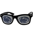 PENN St. Nittany Lions Game Day Shades - Our officially licensed college game day shades are the perfect accessory for the devoted Penn St. fan! The sunglasses have durable polycarbonate frames with flex hinges for comfort and damage resistance. The lenses feature brightly colored team clings that are perforated for visibility. Thank you for shopping with CrazedOutSports.com