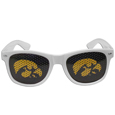 Iowa Hawkeyes Game Day Shades - Our officially licensed Iowa Hawkeyes college game day shades are the perfect accessory for the devoted Iowa Hawkeyes fan! The sunglasses have durable polycarbonate frames with flex hinges for comfort and damage resistance. The lenses feature brightly colored team clings that are perforated for visibility. Thank you for shopping with CrazedOutSports.com