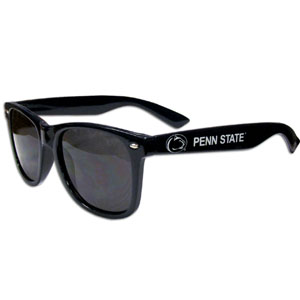Penn St.  Sunglasses - Our collegiate  sunglass feature the team logo and name silk screened on the arm of these great retro glasses.  400 UVA protection. Thank you for shopping with CrazedOutSports.com