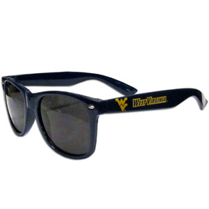 W. Virginia  Sunglasses - Our collegiate  sunglass feature the school logo and name silk screened on the arm of these great retro glasses.  Thank you for shopping with CrazedOutSports.com