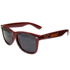 Virginia Tech  Sunglasses - Our collegiate  sunglass feature the school logo and name silk screened on the arm of these great retro glasses.  Thank you for shopping with CrazedOutSports.com