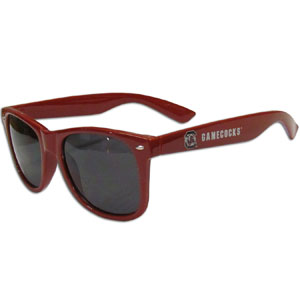 S. Carolina  Sunglasses - Our collegiate  sunglass feature the school logo and name silk screened on the arm of these great retro glasses.  Thank you for shopping with CrazedOutSports.com