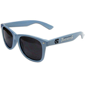N. Carolina  Sunglasses - Our collegiate  sunglass feature the school logo and name silk screened on the arm of these great retro glasses.  Thank you for shopping with CrazedOutSports.com