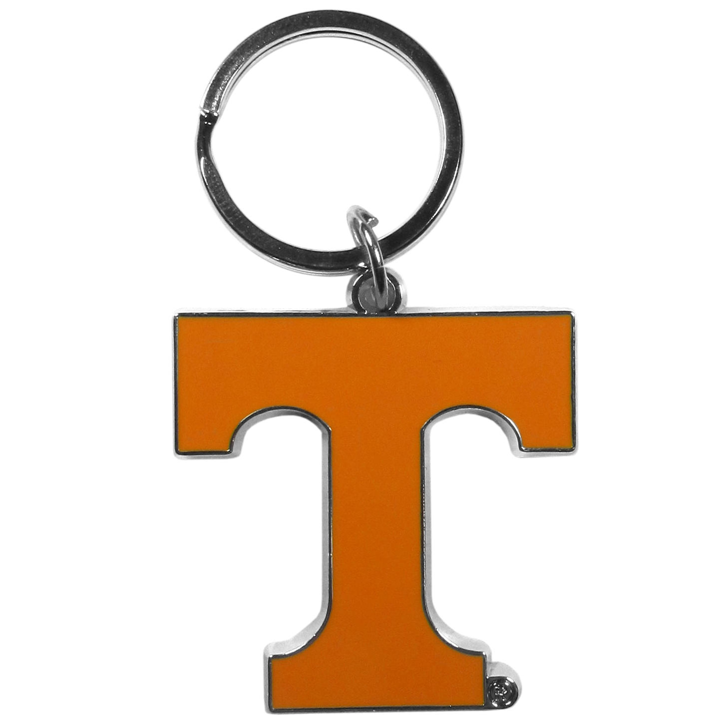 Tennessee Volunteers Enameled Key Chain - Our officially licensed chrome key chain have exceptional 3D detail that really sets this key chain apart from other Tennessee Volunteers key chains. The logo is finely carved and enamel filled with a high polish chrome finish.