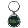 S. Florida Bulls Chrome Key Chain - Our stylish, high-polish S. Florida Bulls key chain is a great way to carry your team with your. The key fob features a raised team dome.