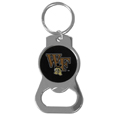 Wake Forest Demon Deacons Bottle Opener Key Chain - Hate searching for a bottle opener, get our Wake Forest Demon Deacons bottle opener key chain and never have to search again! The high polish key chain features a bright team emblem.
