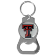 Texas Tech Raiders Bottle Opener Key Chain - Hate searching for a bottle opener, get our Texas Tech Raiders bottle opener key chain and never have to search again! The high polish key chain features a bright team emblem.