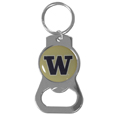 Washington Huskies Bottle Opener Key Chain - Hate searching for a bottle opener, get our Washington Huskies bottle opener key chain and never have to search again! The high polish key chain features a bright team emblem.