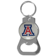 Arizona Wildcats Bottle Opener Key Chain - Hate searching for a bottle opener, get our Arizona Wildcats bottle opener key chain and never have to search again! The high polish key chain features a bright team emblem.