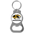 Missouri Tigers Bottle Opener Key Chain - Our collegiate bottle opener key chain has a polished chrome finish and features the school logo. Thank you for shopping with CrazedOutSports.com