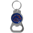Boise St. Broncos Bottle Opener Key Chain - Hate searching for a bottle opener, get our Boise St. Broncos bottle opener key chain and never have to search again! The high polish key chain features a bright team emblem.