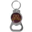 Minnesota Golden Gophers Bottle Opener Key Chain - Hate searching for a bottle opener, get our Minnesota Golden Gophers bottle opener key chain and never have to search again! The high polish Minnesota Golden Gophers Bottle Opener Key Chain features a bright team emblem.
